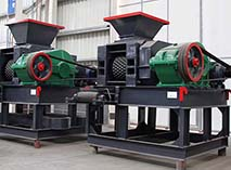 high end small quartz briquette making machine sell at a