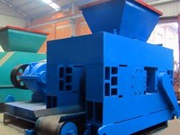 Dieseldriven sawdust briquette machine sold to Uganda