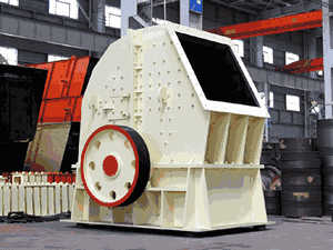 Chemical Composition For Metals Which Are Used Crusher