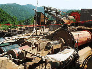 quartz grannual crusher machine