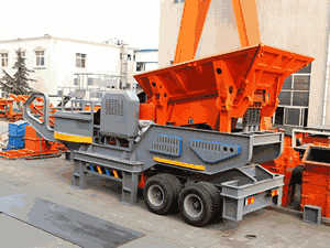 inline rock crusher