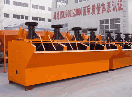 Flotation Machine For Gold Ore