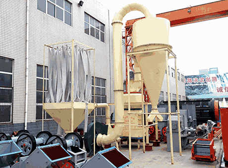 design of agitated media mill for dry grinding of mi