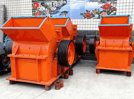 Quartz Lumps Industrial Hammer Crusher