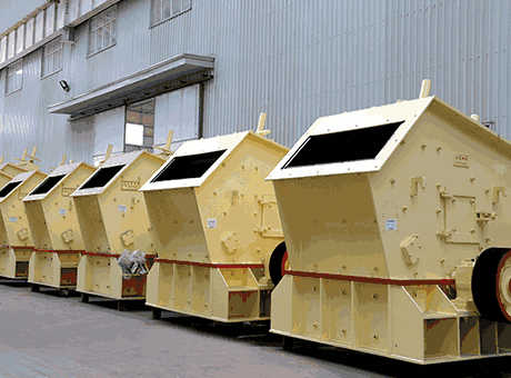 Impact crusher capacity aggregate production line