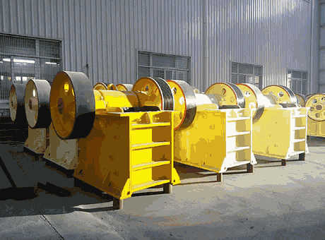 Jaw Crushers Jaw Crusher Hard Rock Processing Materials