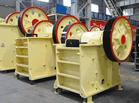 universal jaw crusher maintenance manual