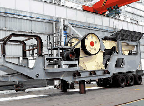 pf mobile impact crusher for secondary and tertiary crushing