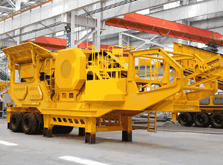 Mobile Crushing Screening Equipment jaw crusher impact