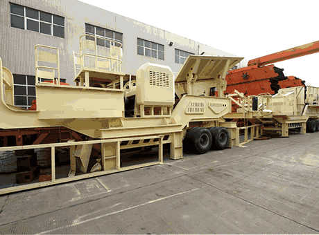 crawler type mobile crushing plant for primary quartz