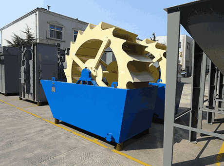 Small Gold Washing Processing Machine Used in Gold Ore