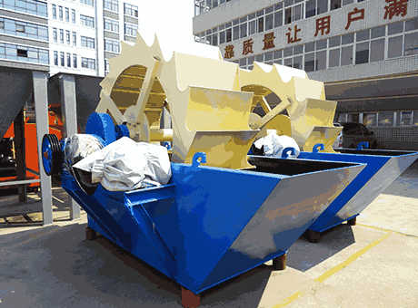 Used wet processing and sand washing equipment CDE