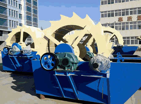 Southeast Asia low price ilmenite sand washing machine