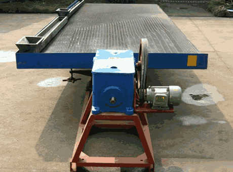 Shaking Table Jiangxi Hengchang Mining Machinery