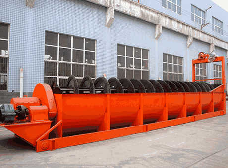 Medan high end dolomite spiral classifier sell at a loss