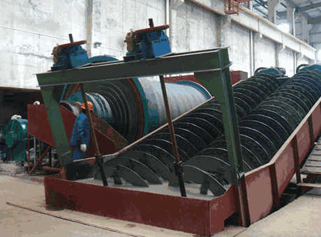 high quality new bauxite spiral classifier sell it at a