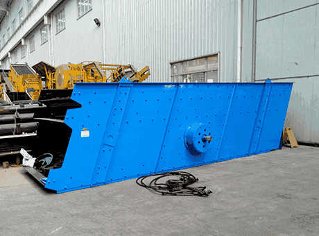 Ore Gold Mining Machine Vibrating Screens