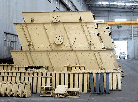 vibrating screen in gold plants