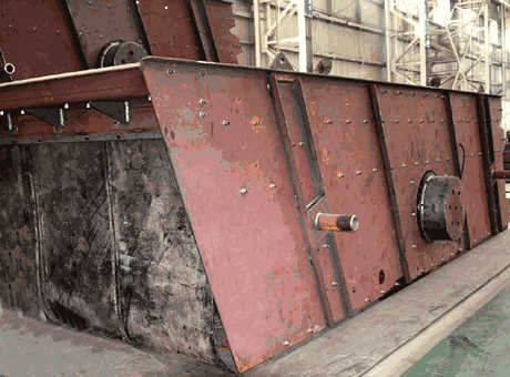 Conveyor Mining Vibrating Screen for sale from China